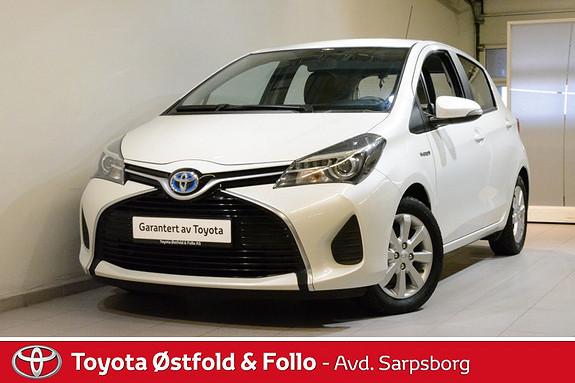 Toyota Yaris 1,5 Hybrid Active e-CVT , NAVIGASJON/CRUISECONTROLL/MOTOR- OG KUPÈVARMER M.M,  2014, 79900 km, kr 165000,-