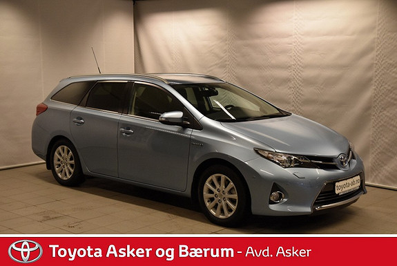 Toyota Auris Touring Sports 1,8 Hybrid Executive INNBYTTEKAMPANJE & RENTEKAMPANJE 2,95%  2014, 30200 km, kr 269000,-
