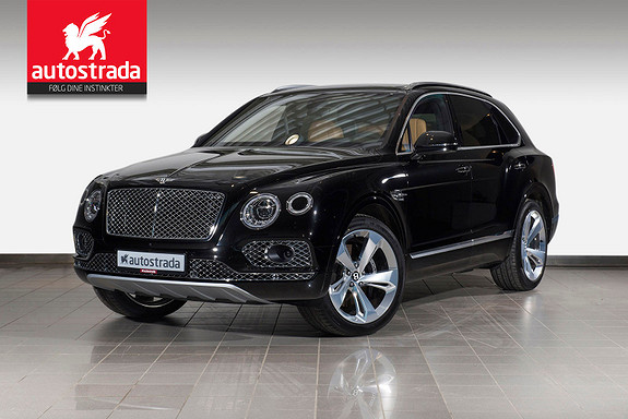 Bentley Bentayga W12  2017, 100 km, kr 3 699 000,-