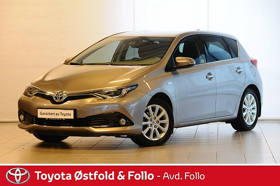 Toyota Auris 1,8 Hybrid E-CVT Style Lav km Dab+  2015, 18845 km, kr 259000,-