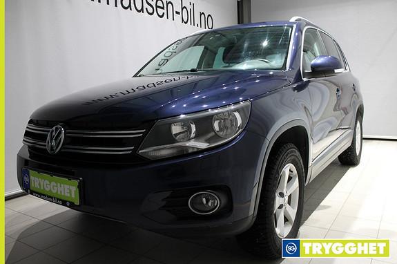 Volkswagen Tiguan 2,0 TDI 140hk 4M Track & Style BMT 2.500KG hengervekt, Tonede ruter, Climatr.