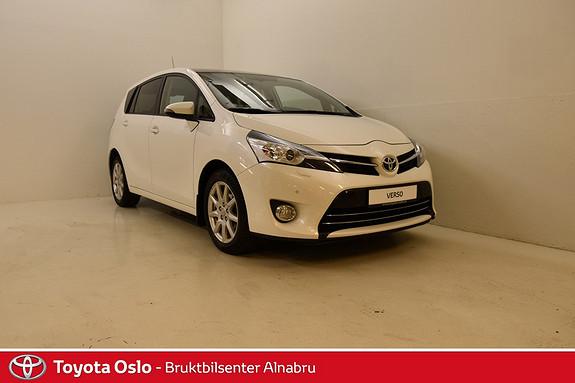 Toyota Verso 1,8 Premium 7 seter Multidrive S Flott 7 seter Verso Premium med Panorama tak og a  2013, 93251 km, kr 249900,-