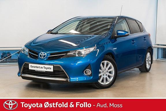Toyota Auris 1,8 Hybrid E-CVT Active+ / MØRKE RUTER / NAVI / SERVICE TATT HER 10.1.17  2014, 49500 km, kr 218000,-