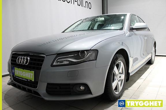 Audi A4 1,8 TFSI 120 hk multitronic **LAV KM** Hengerfeste Cruisekontroll Navigasjon Multiratt