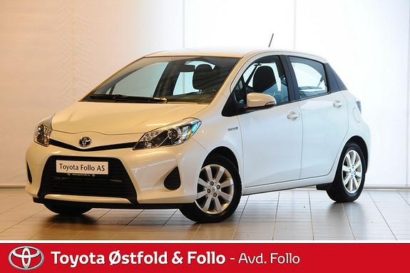 Toyota Yaris 1,5 Hybrid Active e-CVT  2014, 36081 km, kr 169000,-