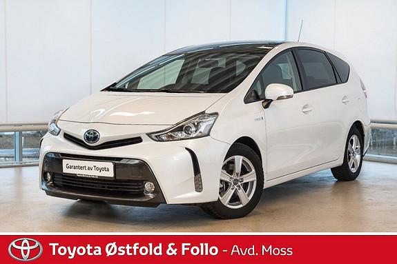 Toyota Prius 1,8 VVT-i Hybrid Executive VI SELGER DEMOBILEN VÅR / SKYVIEW / NAVI  / SKINN  2016, 9900 km, kr 368000,-