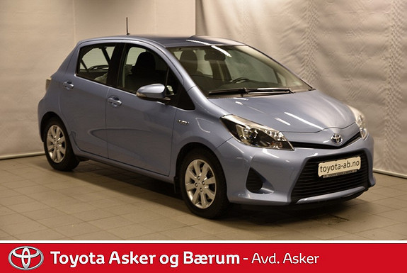 Toyota Yaris 1,5 Hybrid Active INNBYTTEKAMPANJE & RENTEKAMPANJE 2,95%  2013, 16400 km, kr 171000,-