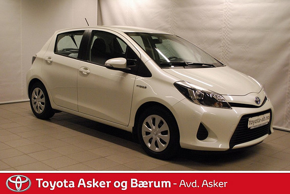 Toyota Yaris 1,5 Hybrid Active INNBYTTEKAMPANJE & RENTEKAMPANJE 2,95%  2013, 27200 km, kr 171000,-