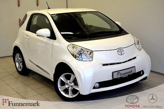 Toyota IQ 1,0VVT-i Lettkjørt og snerten!!!  2011, 51000 km, kr 79000,-