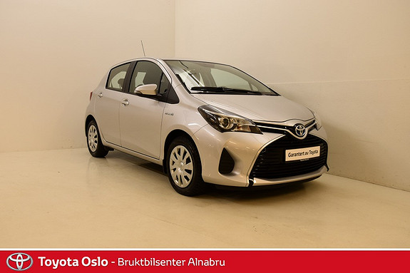 Toyota Yaris 1,5 Hybrid Active e-CVT DAB+, Navi, Automat,  2015, 49746 km, kr 169900,-