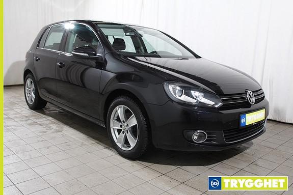 Volkswagen Golf 1,6 TDI 105hk Highline DSG Automat-Cruise-Klima-HF-Xenon-Park.sensor-Delskinn