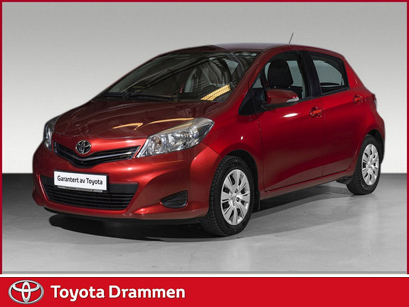 Toyota Yaris 1,33 Active  2013, 58000 km, kr 149000,-