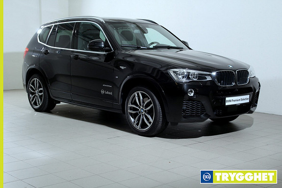 BMW X3 xDrive20d 190hk 100 Edition aut -Mpakke-NaviPro-HeadUp-LED-DAB+-Adaptiv Cruise+++