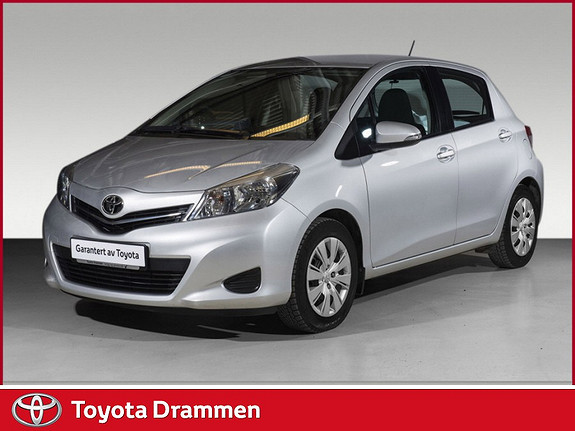 Toyota Yaris 1,33 Active  2013, 43900 km, kr 155000,-