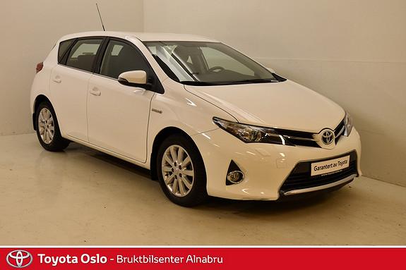 Toyota Auris 1,8 Hybrid E-CVT Active LAV km! DAB+, Park sensor,  2013, 26132 km, kr 199900,-