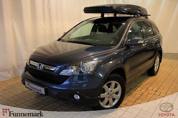 Honda CR-V 2,2 Elegance S&L  2008, 100980 km, kr 169000,-