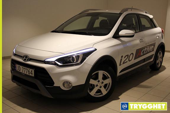 Hyundai i20 1,0 T-GDI ACTIVE Demobil /Plusspakke/Navi/Kamera/+++