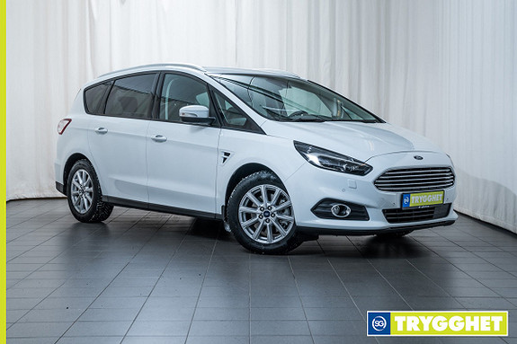 Ford S-MAX 2,0 TDCi 120hk Trend 7-s Adaptive LED lys, Navi, Setepakke, DAB+, Keyless,Hengerfese