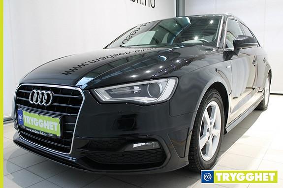 Audi A3 Sportback 1,2 TFSI 105hk Ambition S tronic Panoramatak, S-line, Sort innvtak, Bluetooth