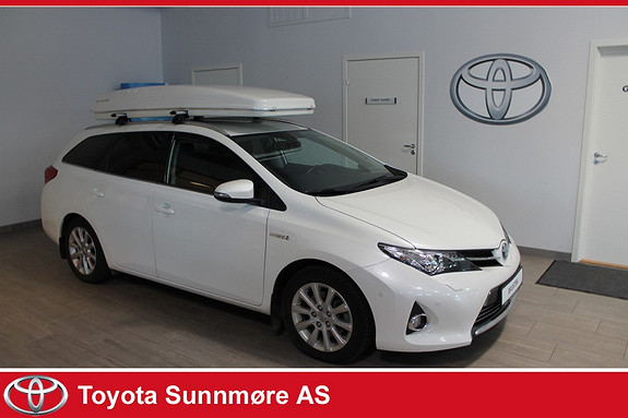 Toyota Auris Touring Sports 1,8 Hybrid Executive VELHOLDT**DELSKINN*  2014, 53950 km, kr 229000,-