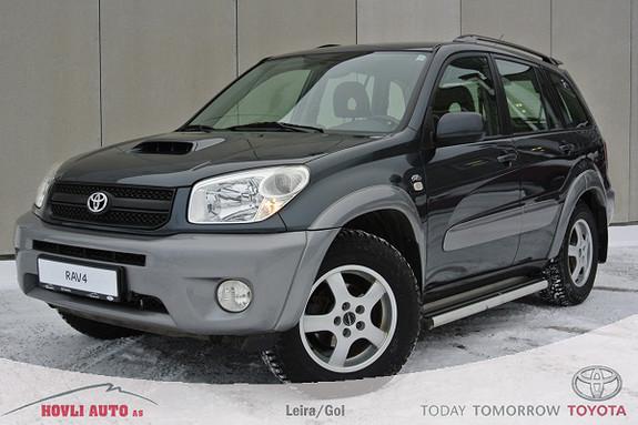 Toyota RAV4 2,0 4wd 5-dørs Sport - Understellsbehandlet - Tectylert - Nye dyser - 3 mnd garanti  2005, 132665 km, kr 99900,-