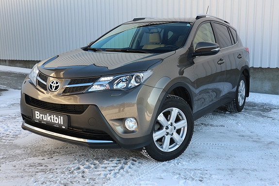 Toyota RAV4 2,2 D-CAT 4WD Exective aut . Lav km.stand, DAB+ ,  2014, 45000 km, kr 379000,-
