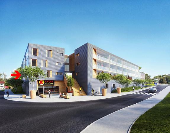 Søreide: 2-roms eiet leilighet under oppføring