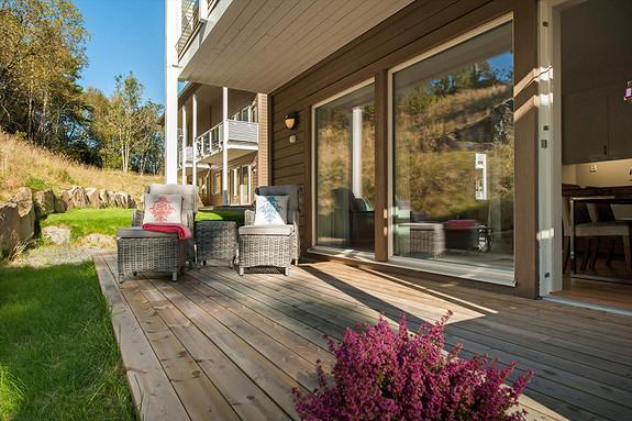 Nesttun - Lekker 2-roms leilighet fra 2016 med høy standard. 800 meter til bybane på Nesttun.