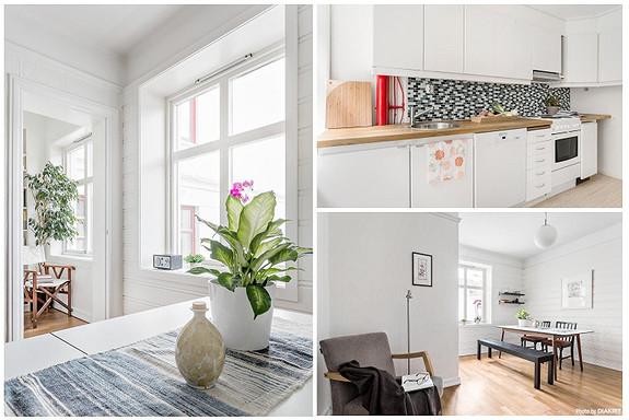 SANDVIKEN - Koselig 2-roms leiliighet med god planløsning i ett av Bergens mest attraktive områder.