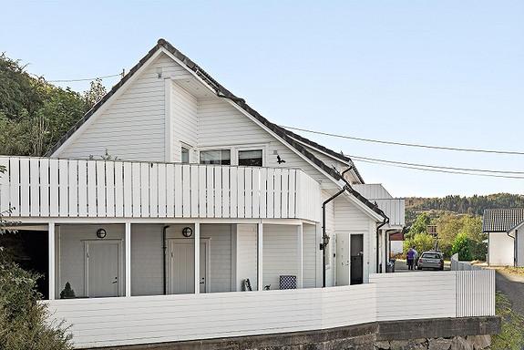 Søreide - Flott enderekkehus med 3 soverom - Meget barnevennlig