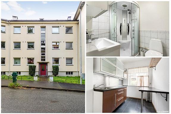 Kronstad - 3-roms leilighet med balkong og sentral beliggenhet like ved bybanestopp.
