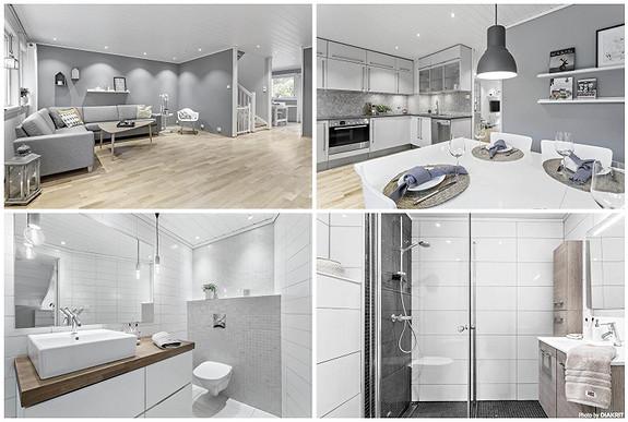 NIPEDALEN/LAKSEVÅG - Stort selveiende enderekkehus med 5 soverom og 2 bad i et barnevennlig område