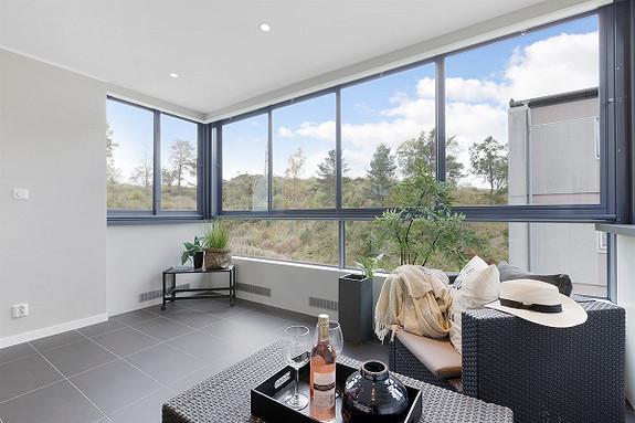 Ytre Sandviken - Eksklusiv 3-roms leilighet med innglasset balkong. Nærhet til NHH, skoler og barnehage. Visning tirsdag 17.10 kl 18:45 - 19:30!
