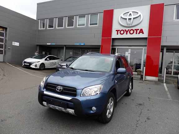Toyota RAV4 2.2D-4D Sport  2007, 141000 km, kr 139000,-