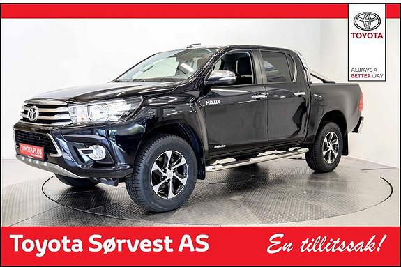 Toyota HiLux D-4D 150hk D-Cab 4WD SR aut Meget fin!  2016, 13500 km, kr 399000,-