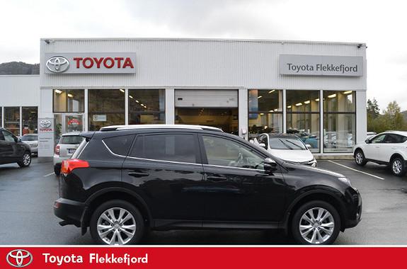 Toyota RAV4 2,0 D-4D 4WD Executive SE FARGE PÅ INTERIØR  2014, 59477 km, kr 339000,-
