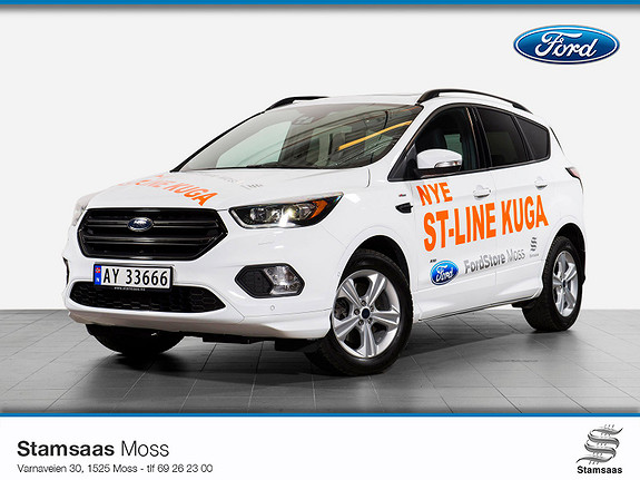 Ford Kuga 2,0 TDCi 150hk AWD ST-Line aut Hengerfeste l Webasto l