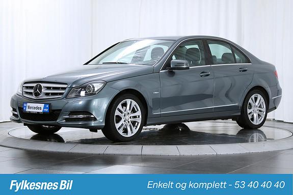 Mercedes-Benz C-Klasse C180 CDI Avantgarde aut Avantgarde, DAB+, ILS,  2012, 26100 km, kr 269900,-