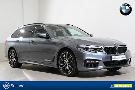 BMW 5-serie 520d xDrive Touring aut M-HUD-EDC-DAB+-Cruise-Kamera++