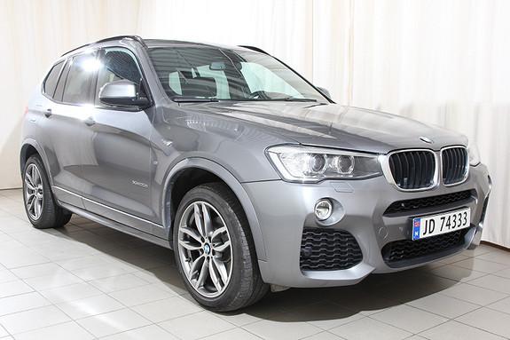 BMW X3 xDrive20d 190hk aut Navi, M Sport, Automat