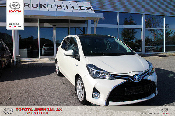 Toyota Yaris 1,5 Hybrid Style  2014, 45500 km, kr 169000,-