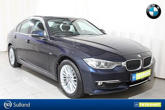 BMW 3-serie 316i A 4-dørs Luxury line, Automat, Dab+