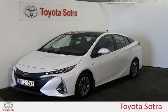 Toyota Prius 1,8 VVT-i Solar PHV LAV KM DAB+ NORSK  2017, 1800 km, kr 345000,-
