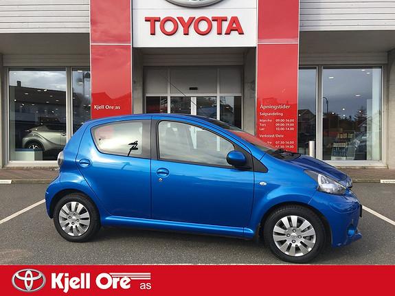 Toyota Aygo 1,0 + MultiMode 5-d  2012, 9956 km, kr 99000,-