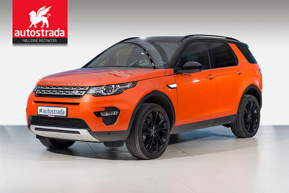 Land Rover Discovery Sport SD4 190hk HSE 7 seter