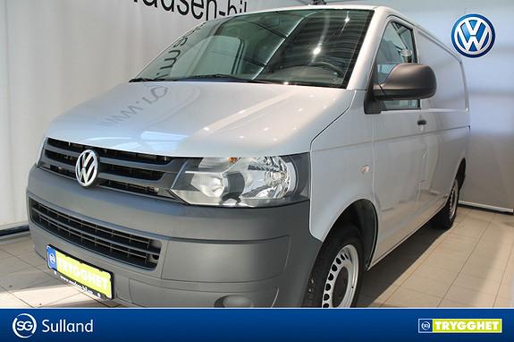 Volkswagen Transporter 2,0 TDI 102hk kort chassis **LAV KM** HENGERFESTE, AC