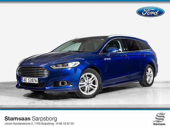 Ford Mondeo 2,0 TDCi 150hk Titanium AWD l Hengerfeste l Webasto l