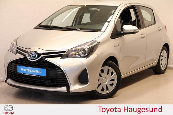 Toyota Yaris 1,5 Hybrid Active e-CVT Navi, kamera, Bluetooth, DAB+  2015, 40994 km, kr 175000,-