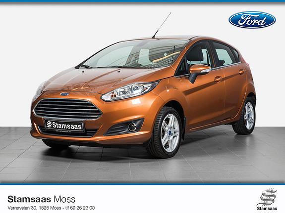 Ford Fiesta 1,0 80hk Titanium l Navigasjon l Sony Radio DAB+ l