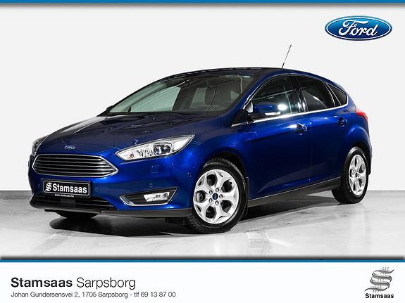 Ford Focus 1,0 EcoBoost 125hk Titanium X l Navi l Kamera l Xenon l